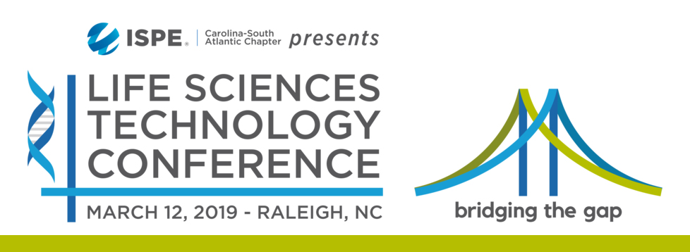 Come See Us At The ISPE-CaSA 26th Annual Life Sciences Technology Conference Tuesday, March 12, 2019