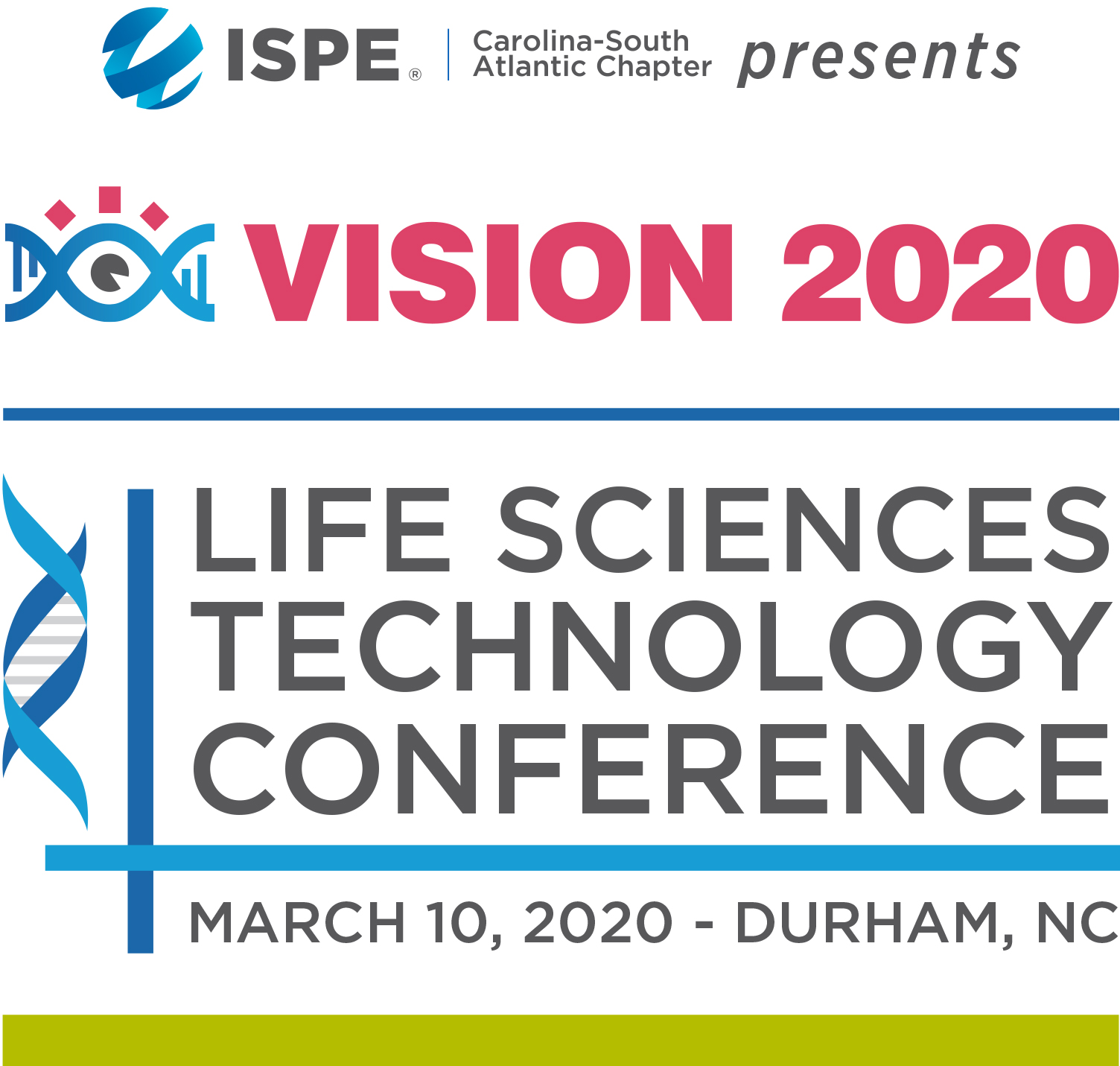 Join Us At The ISPE-CaSA Technology Conference March 10, 2020